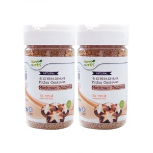 Love Earth Natural Mushroom Seasoning 150g (Buy 3 Free 1 Himalaya Salt 400g) [Halal & 100% Natural]