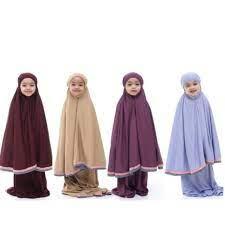 BUDAK Telekung Arafah Lace