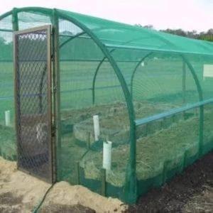 Greenhouse Netting Agriculture Jaring Putih Rumah Pelindung Hujan Murah Hijau Insect Barrier Bird Net 24 Mesh 12FT WIDTH