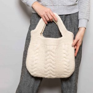 Bag Knitting Cream