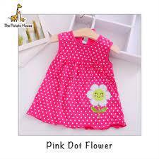 Baju Baby Girl Dress Baju Bayi Perempuan 2-24 Months Murah Clothing Gaun kanak2 Newborn Bju Bby Infant Budak Ls1