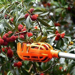 1PCS Rodless Plastic Fruit Picker Gardening Tool Fruit Tools Picking Orange L3Z0