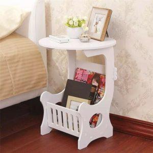 Creative Beside Bed Table Mini Plastic Coffee Home Living Room Storage