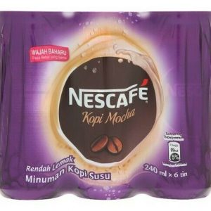 Nescafé Mocha Milk Coffee Drink 6 x 240ml