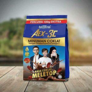 AEX3C CHOCOLATE PREMIUM DRINK ENERGY BOOSTER N HIGH FIBRE