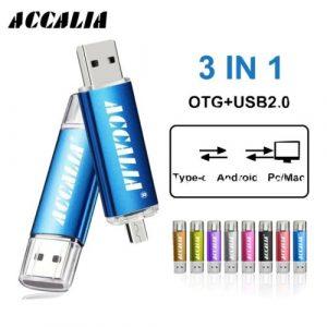 USB ON THE GO. 3 IN 1 Type-C