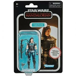 """STAR WARS THE VINTAGE COLLECTION THE MANDALORIAN CARA DUNE 3.75"""" ACTION FIGURE"""