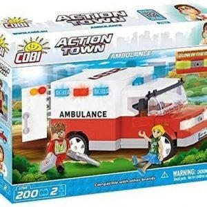 New Cobi Action Town Ambulance Building Blocks Brick Set 1765 Toy