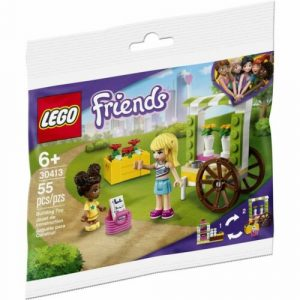 Lego 30413 Friends Flower Cart Building Kit New with Sealed Bag