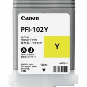 Canon - PFI-102Y Yellow Ink Cartridge