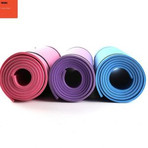 10MM NBR Yoga Mat EXTRA THICK Non-Slip Mat FREE STRAP PACKAGE