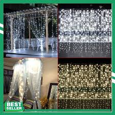 1/2/3M *3M LED Lamp String Indoor Outdoor Fairy Wedding Christmas Curtain USB Remote Control Lights Decor