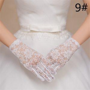 Bride Gloves Bridesmaid Wedding Gloves Wedding Gloves Holiday Performance Gloves Lace Sunscreen Gloves